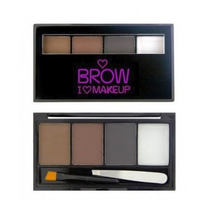 Makeup Revolution I Heart Makeup Paleta do brwi Brow Kit Bold is Best 3g