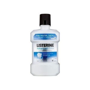 Listerine Płyn do higieny jamy ustnej Advanced White 1000ml
